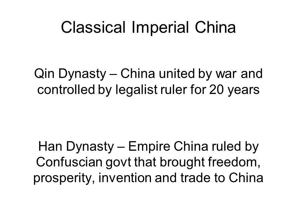 Classical Imperial China