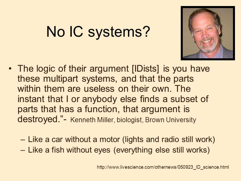 No IC systems