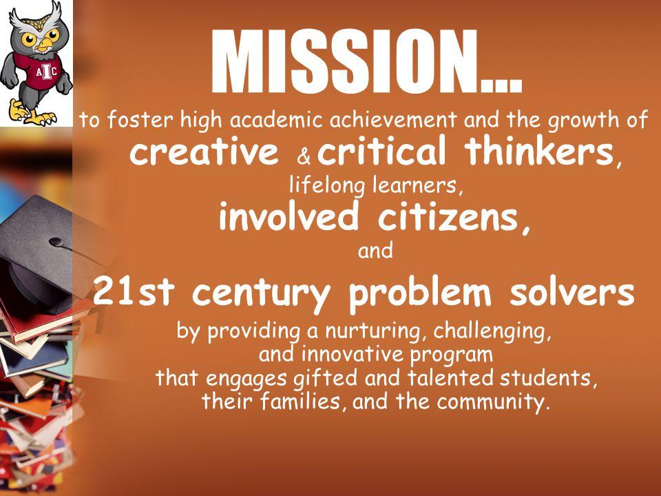 21st century problem solvers