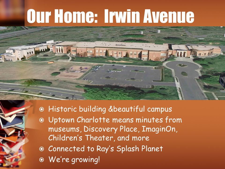 Our Home: Irwin Avenue Historic building &beautiful campus