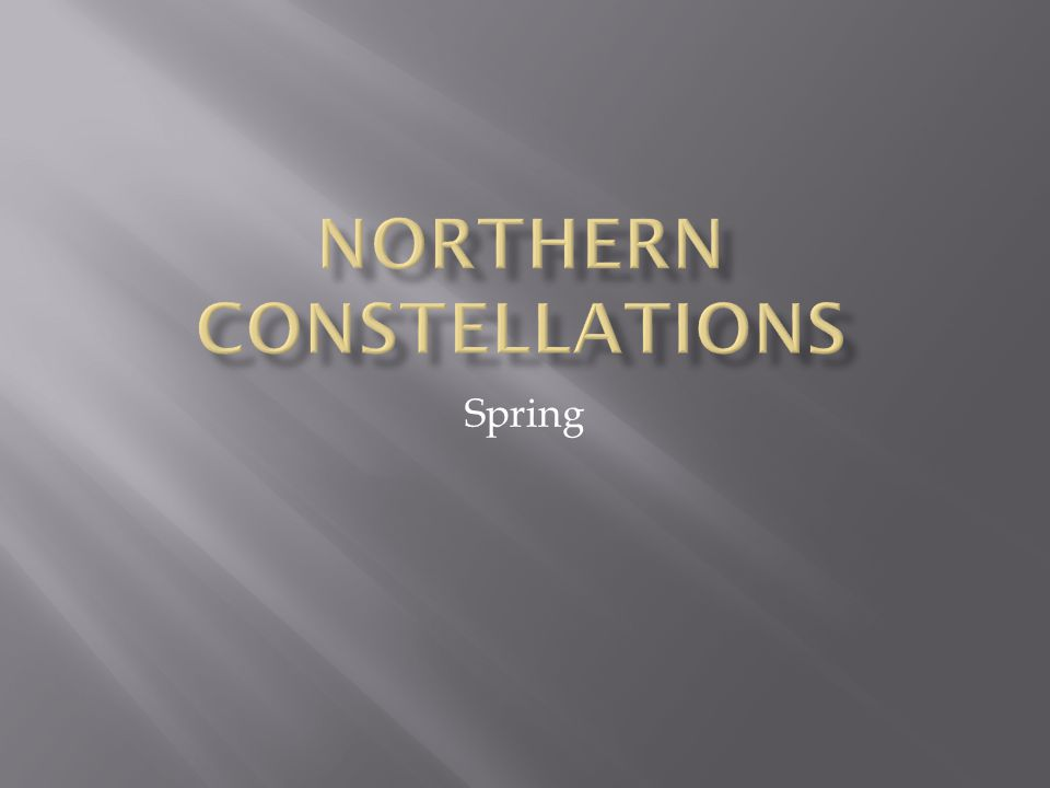 Northern Constellations