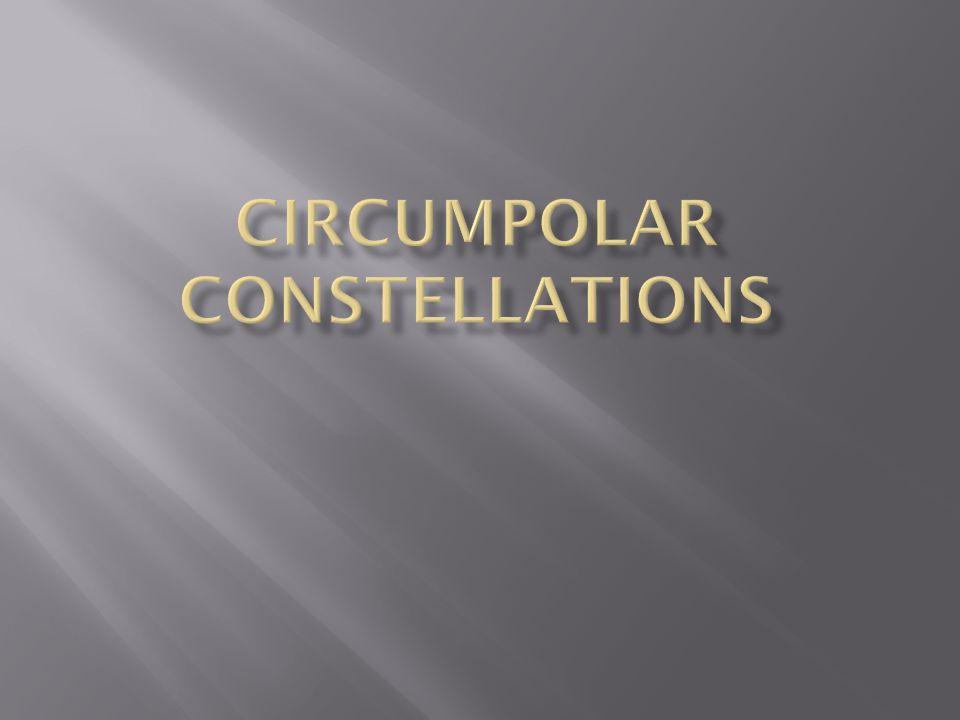 Circumpolar Constellations