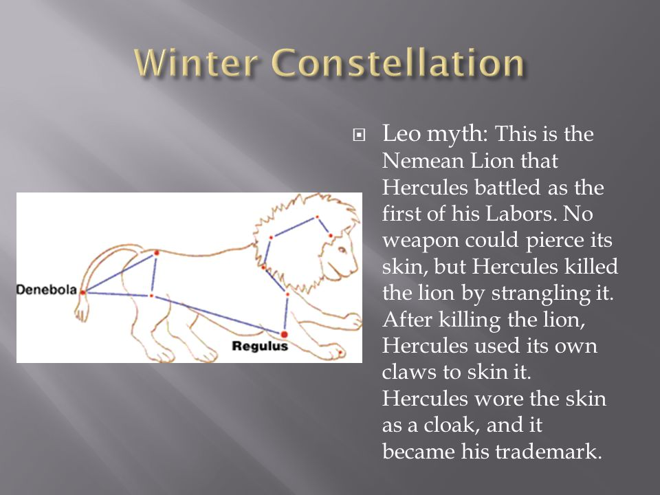 Winter Constellation