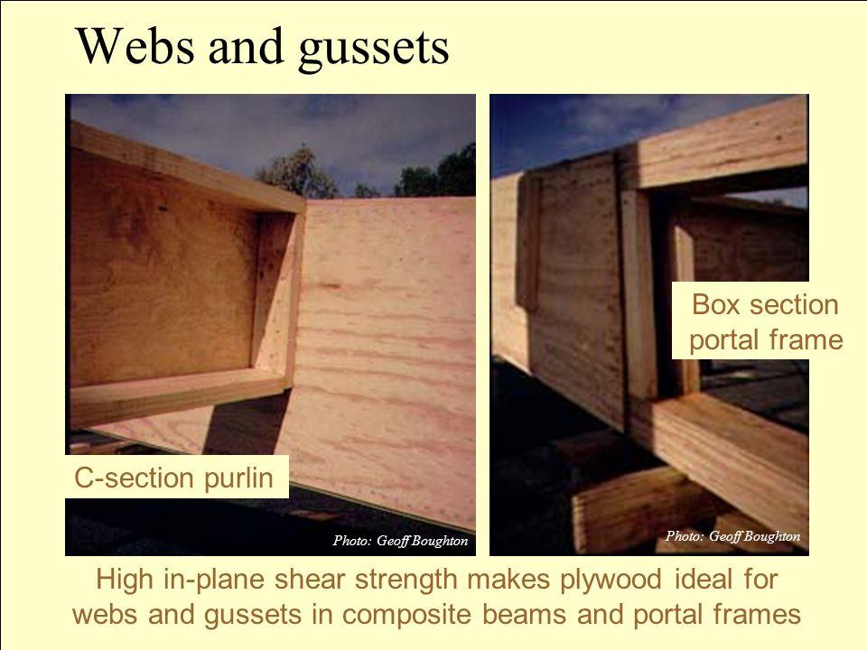 Box section portal frame