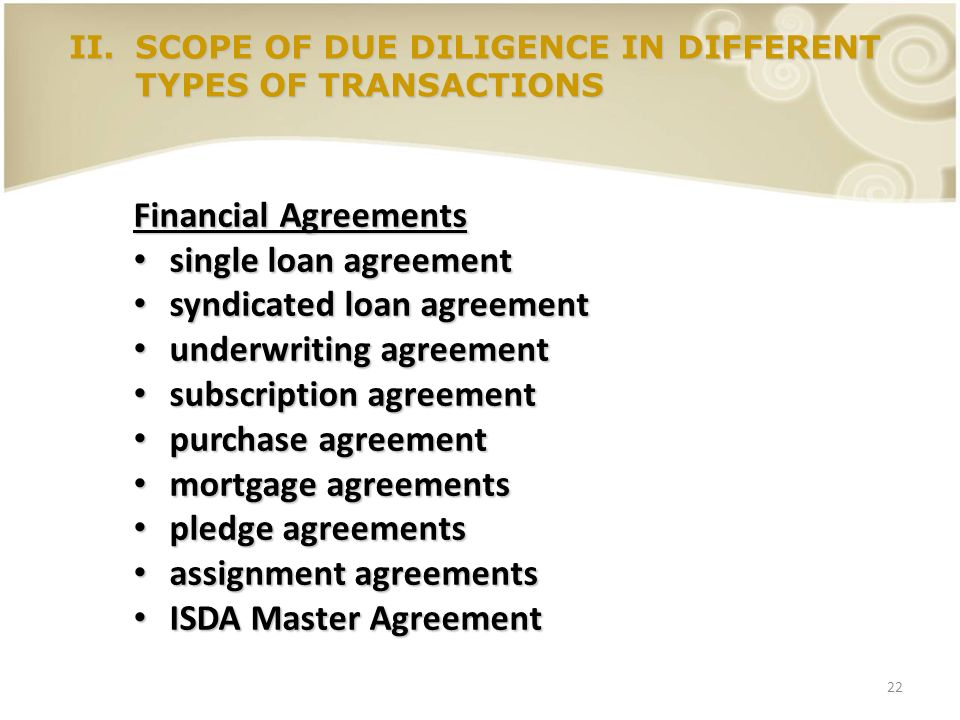 syndicated loan agreement underwriting agreement