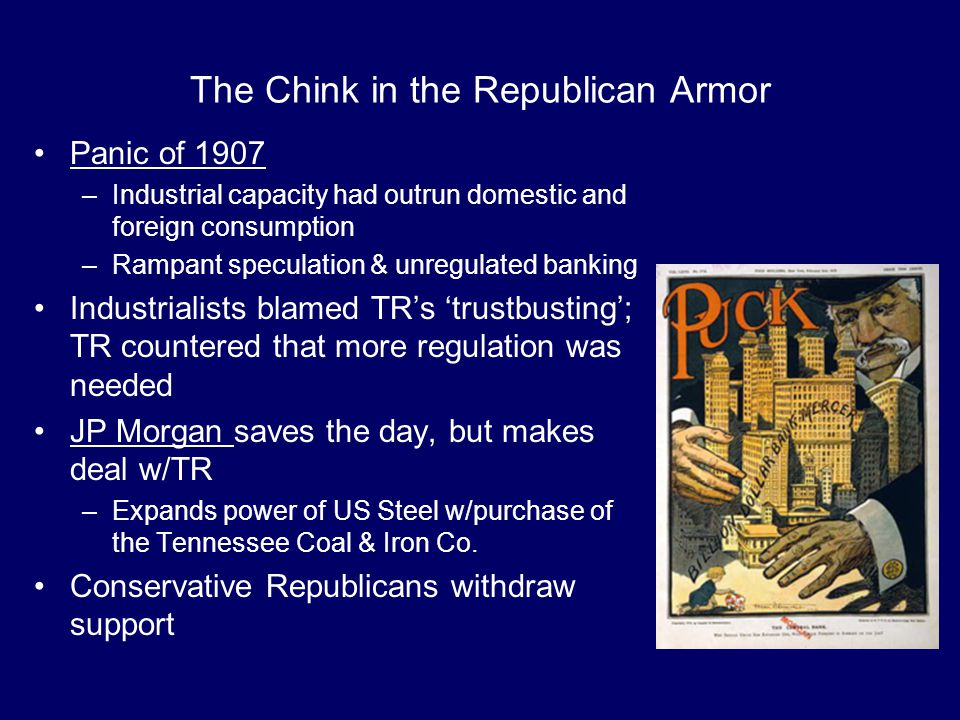 The Chink in the Republican Armor