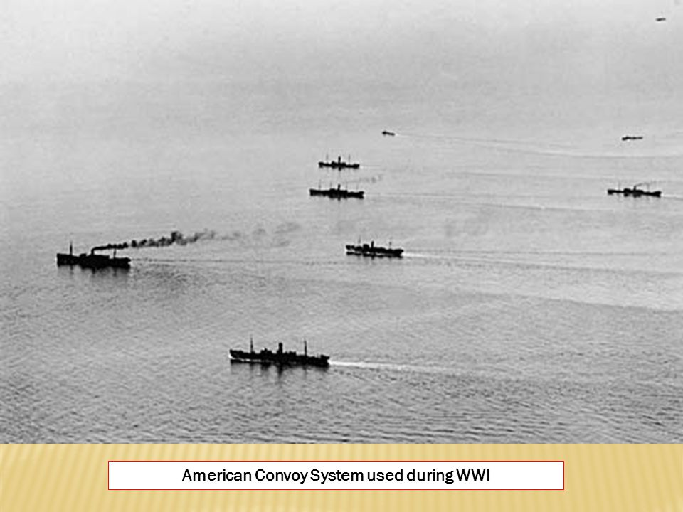 American Convoy System used during WWI