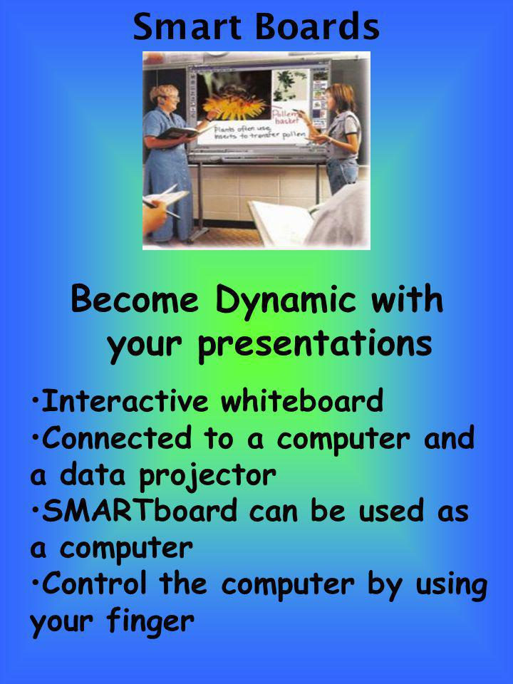 Become Dynamic with your presentations