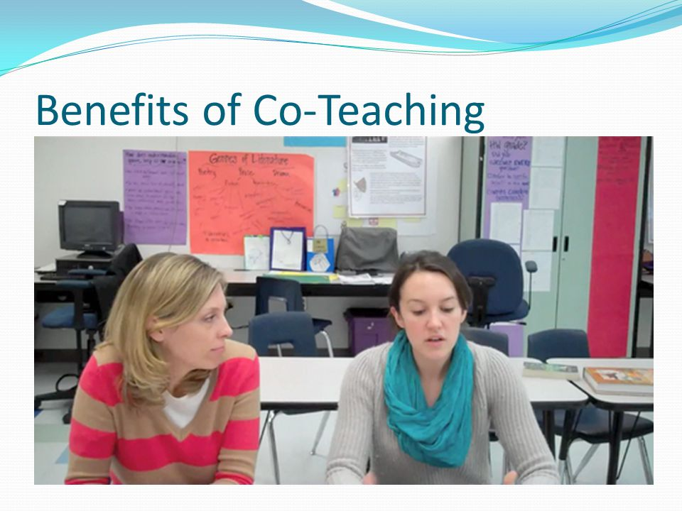 Benefits of Co-Teaching