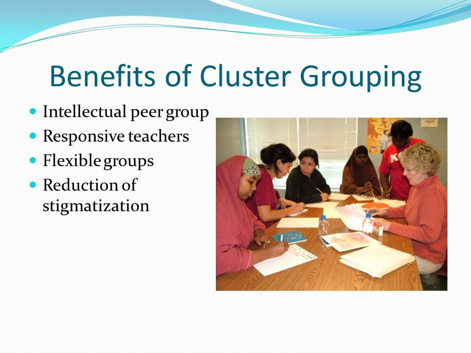 Benefits of Cluster Grouping