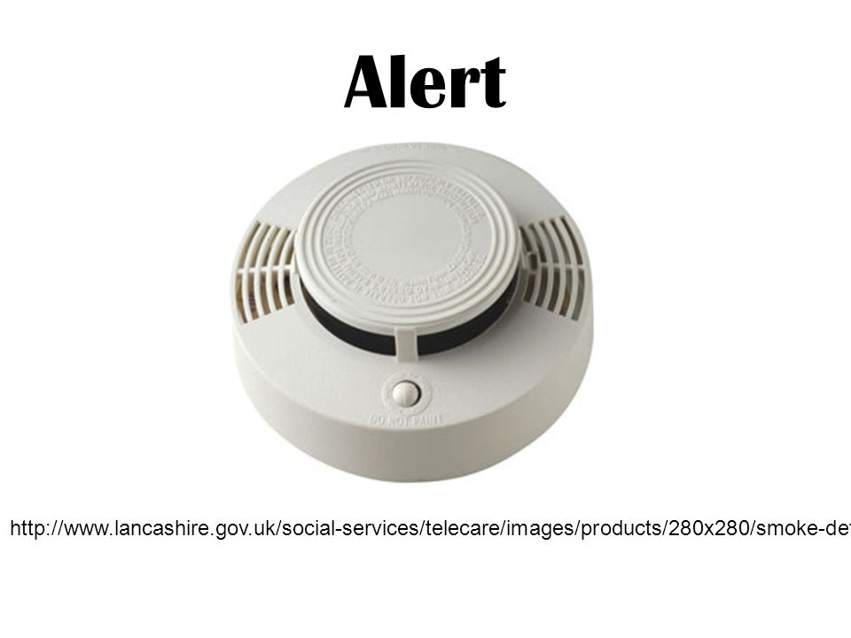 Alert http://www.lancashire.gov.uk/social-services/telecare/images/products/280x280/smoke-detector.jpg.