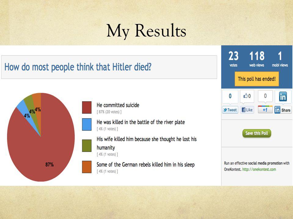 My Results