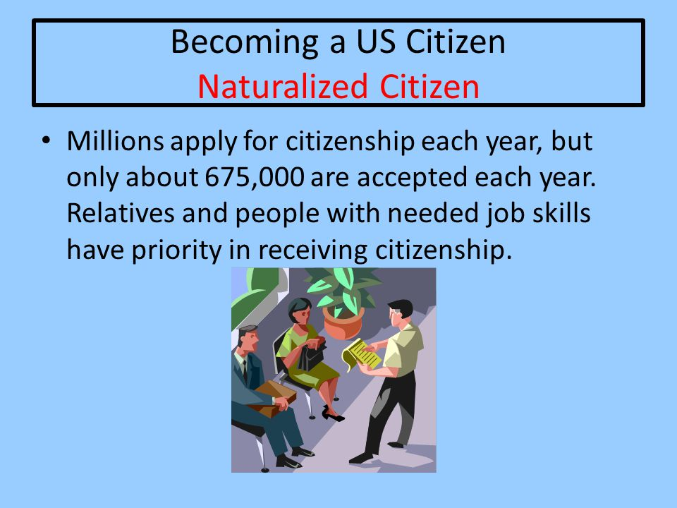 Becoming a US Citizen Naturalized Citizen