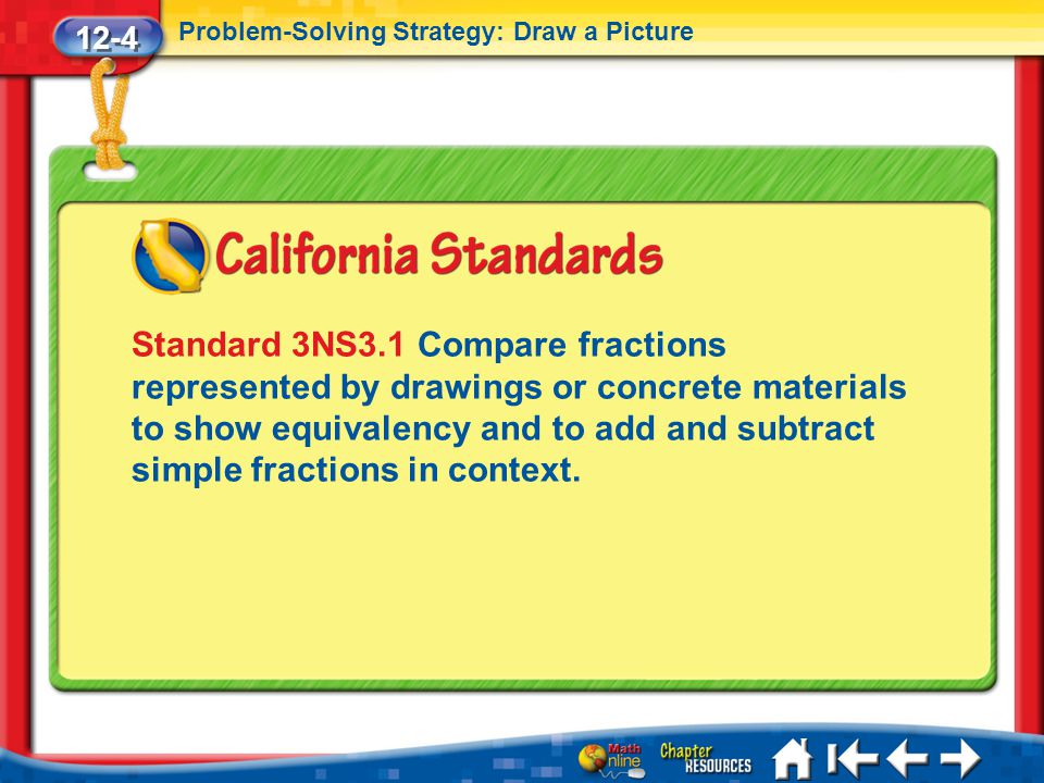 12-4 Problem-Solving Strategy: Draw a Picture.