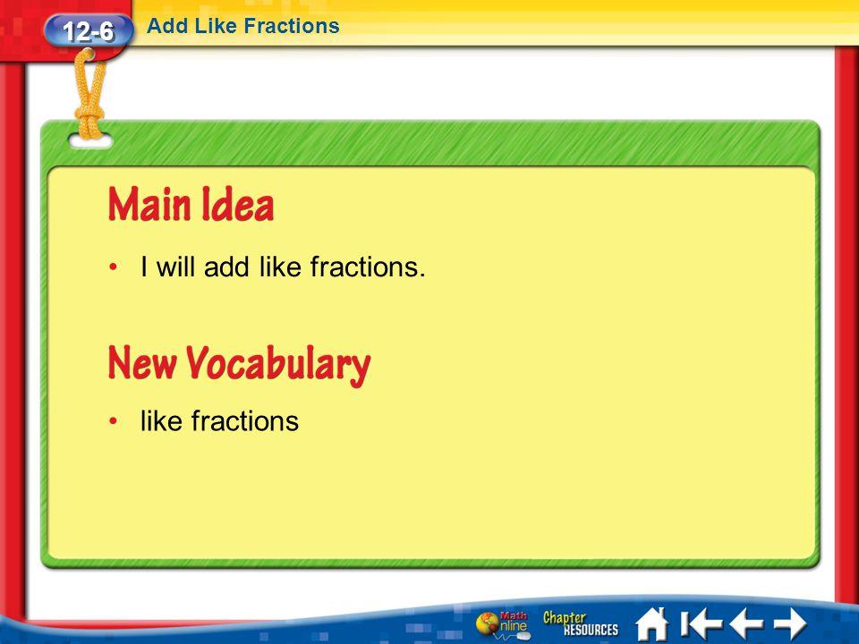 Lesson 6 MI/Vocab/Standard 1