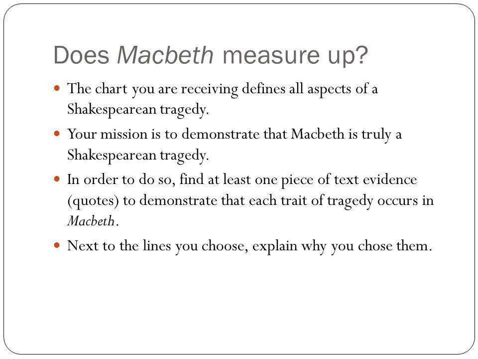 Does Macbeth measure up