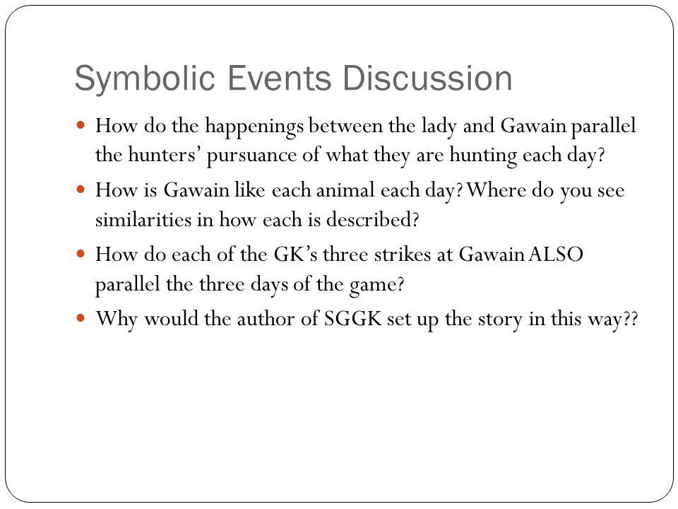 Symbolic Events Discussion