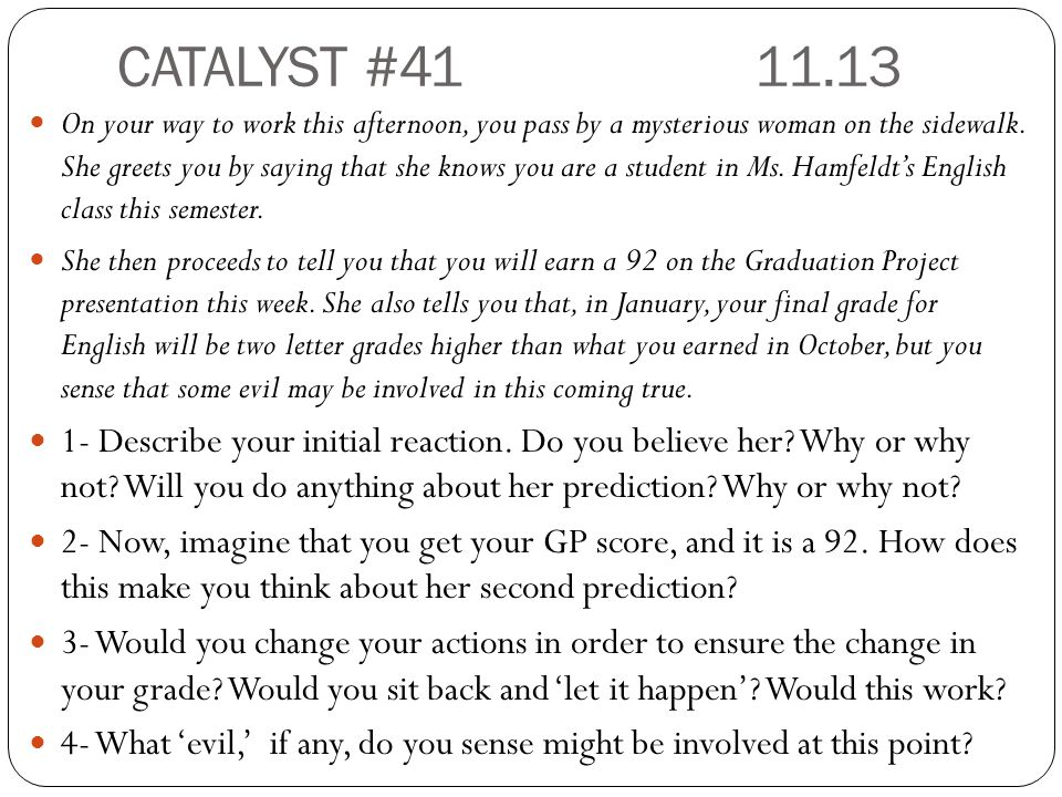 CATALYST #41 11.13