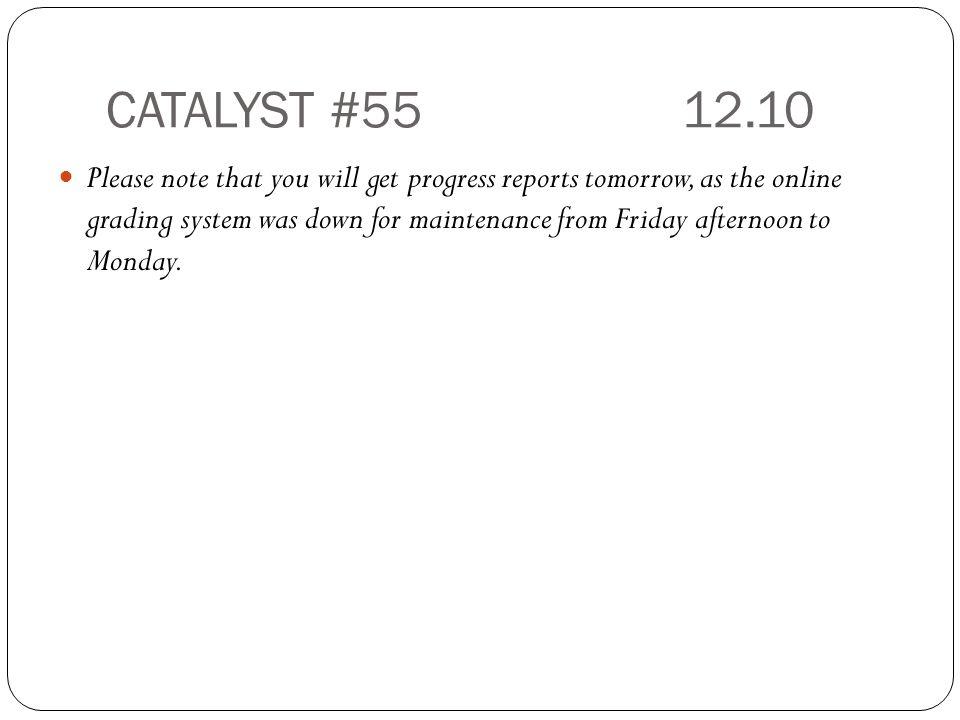 CATALYST #55 12.10