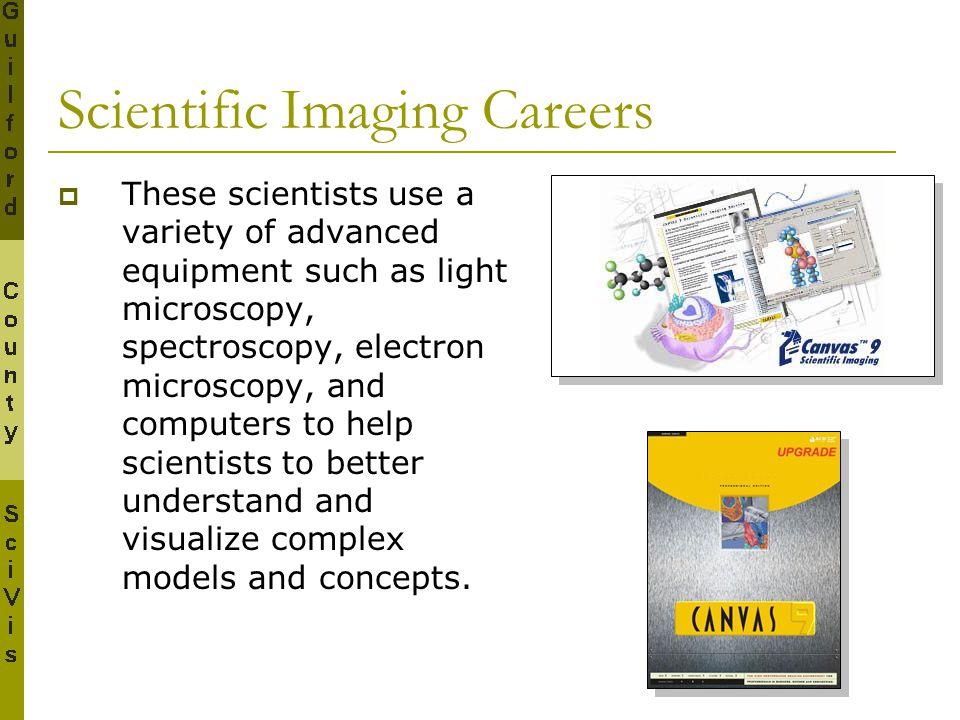 Scientific Imaging Careers