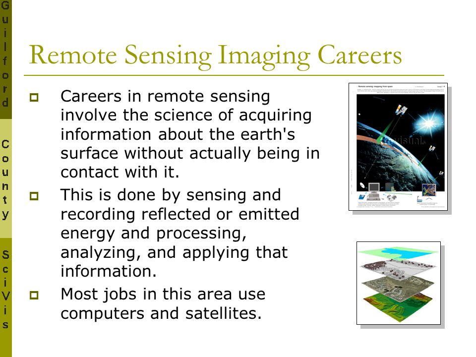 Remote Sensing Imaging Careers