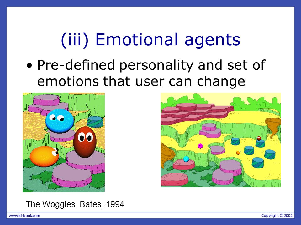 (iii) Emotional agents