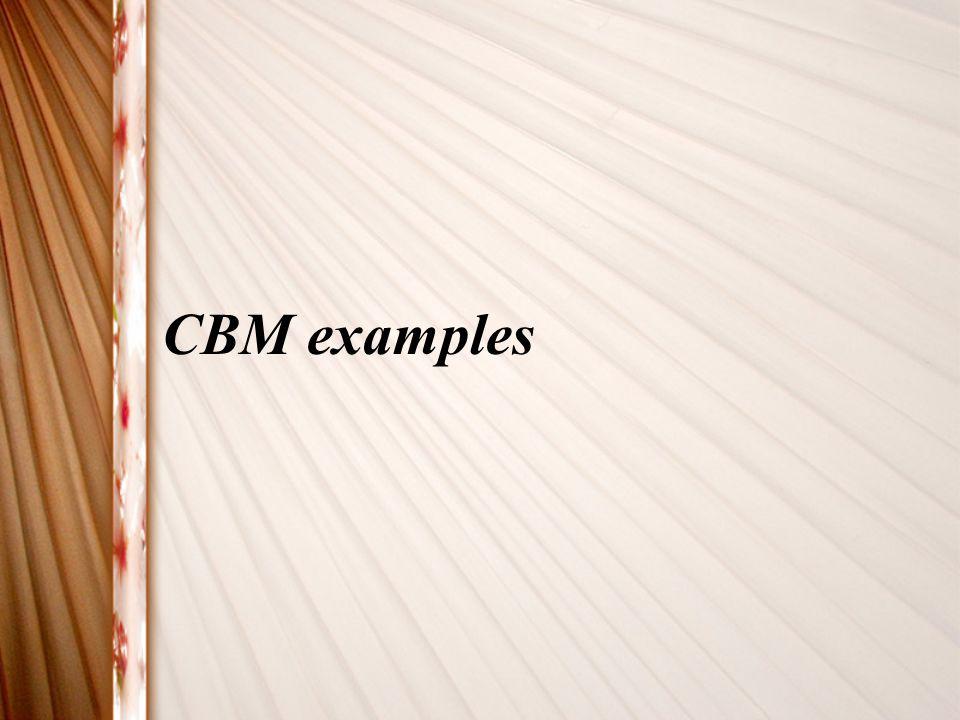 CBM examples