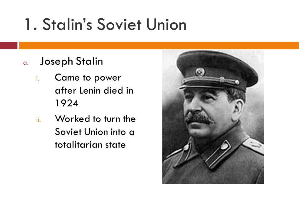 an essay on joseph stalin and the soviet union Joseph stalin seems to have dedicated himself to acquiring and maintaining joseph stalin essay as the leader of the soviet union from 1925 until his.