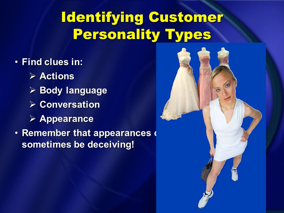 Identifying Customer Personality Types
