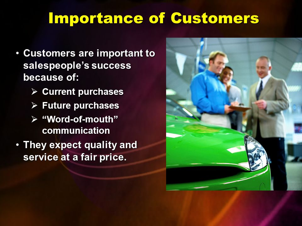 Importance of Customers