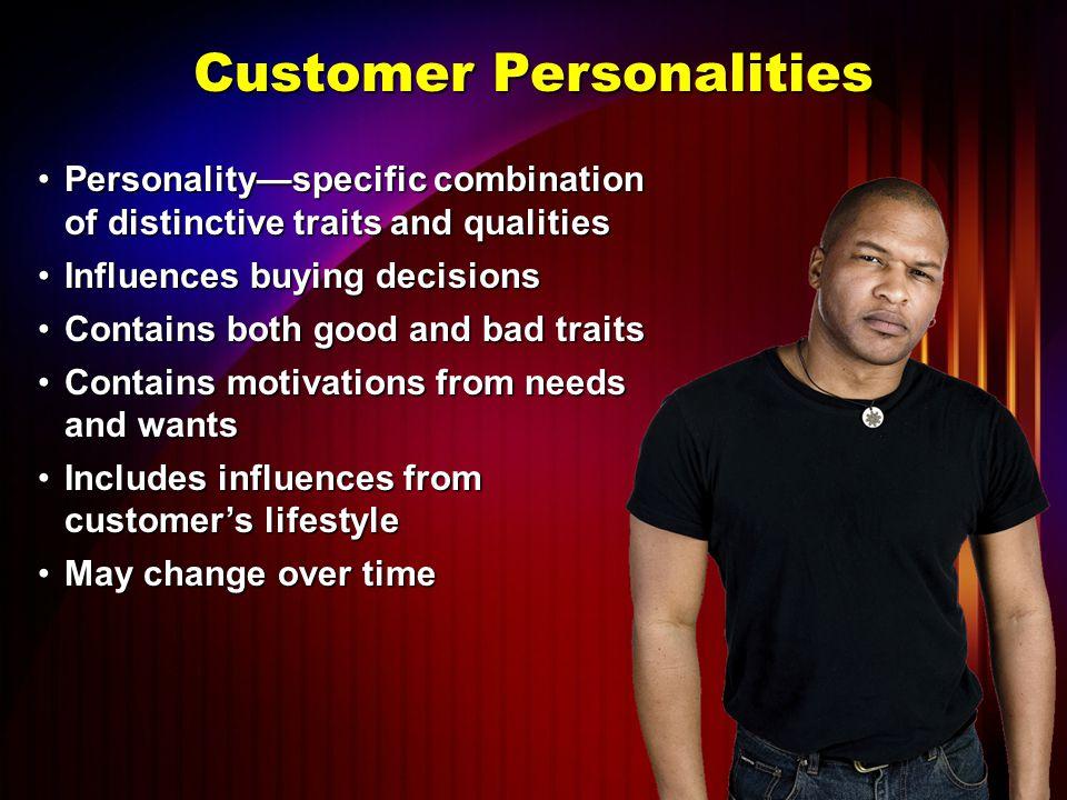 Customer Personalities