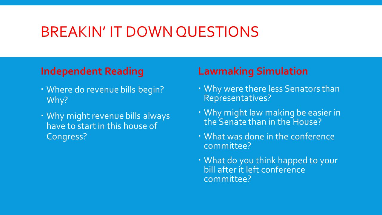 powers of congress unit ppt download