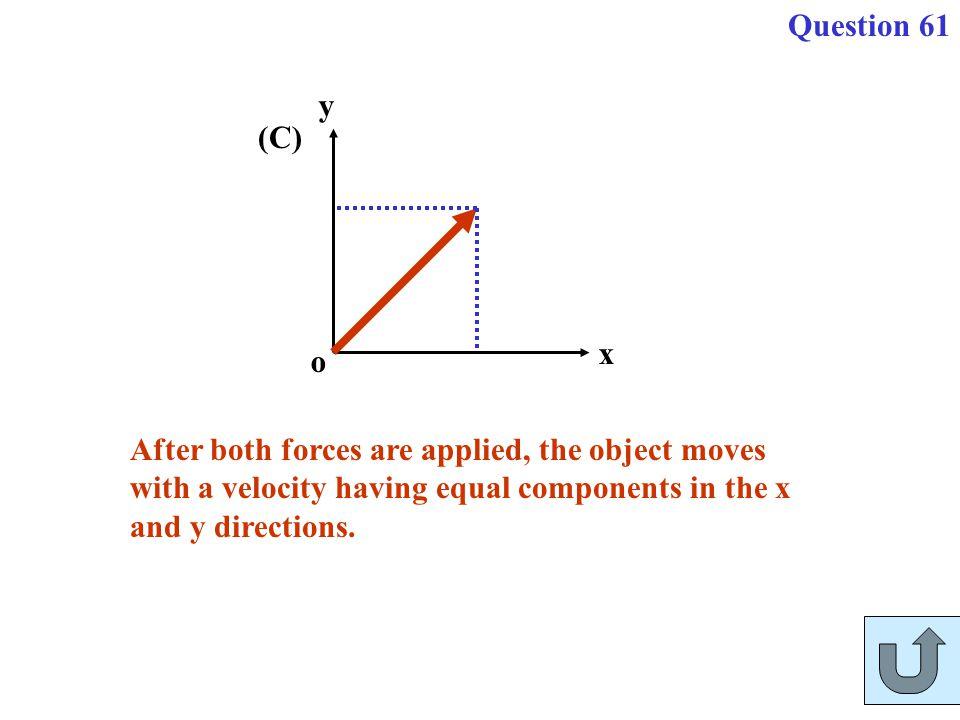 Question 61 o. x. y.
