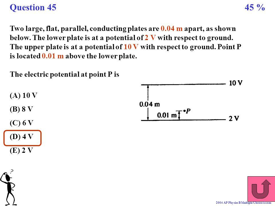 Question 45 45 %
