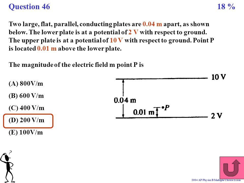 Question 46 18 %