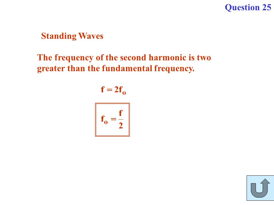 Question 25 Standing Waves.