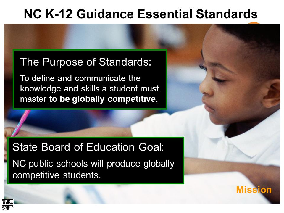 NC K-12 Guidance Essential Standards