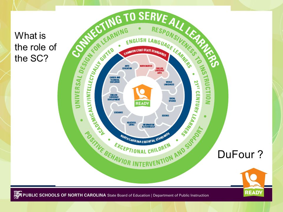 DuFour What is the role of the SC
