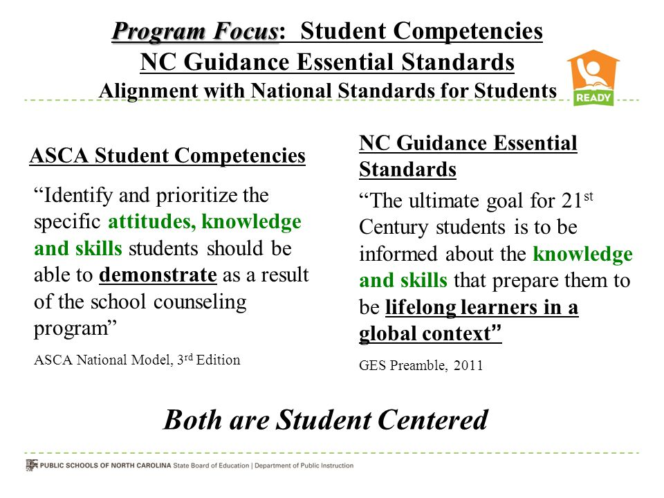 Both are Student Centered