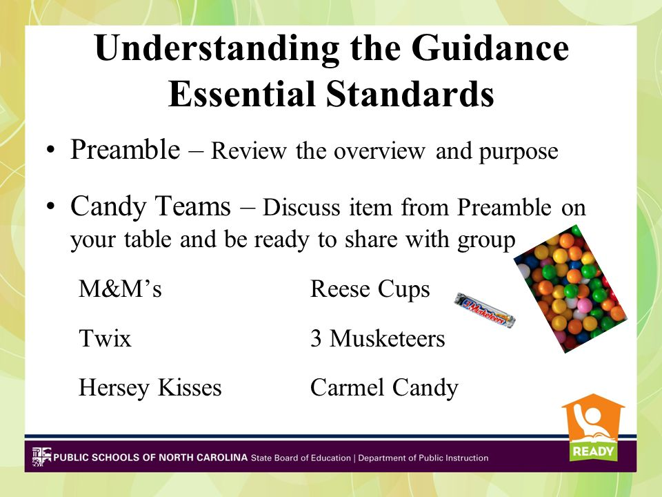 Understanding the Guidance Essential Standards