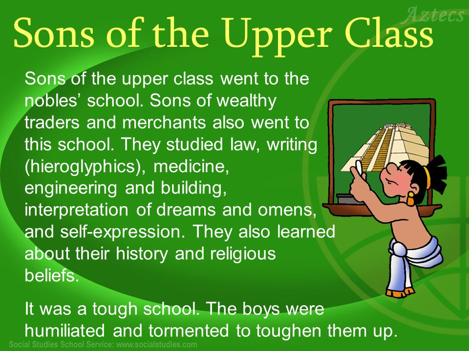Sons of the Upper Class