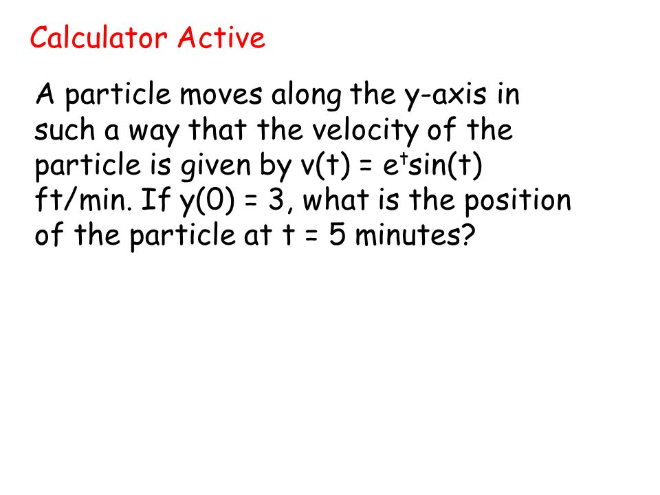 Calculator Active