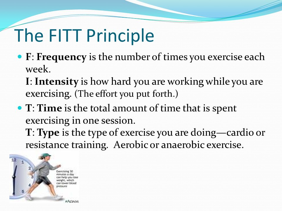 The FITT Principle