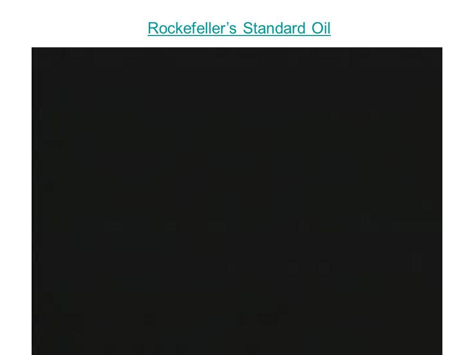 Rockefeller's Standard Oil