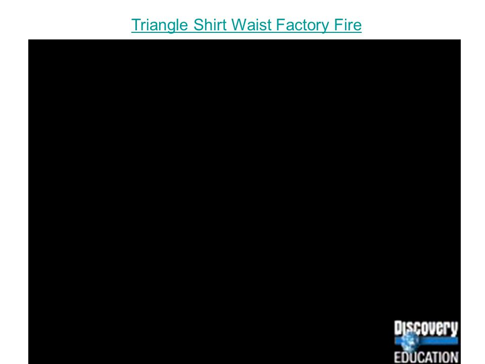 Triangle Shirt Waist Factory Fire
