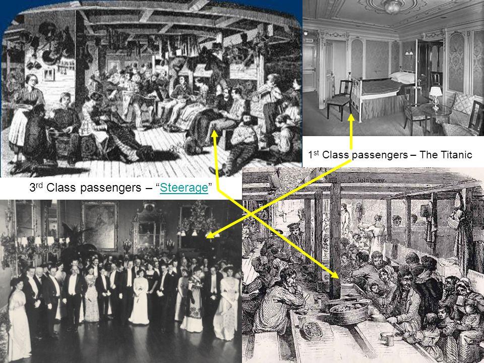 3rd Class passengers – Steerage