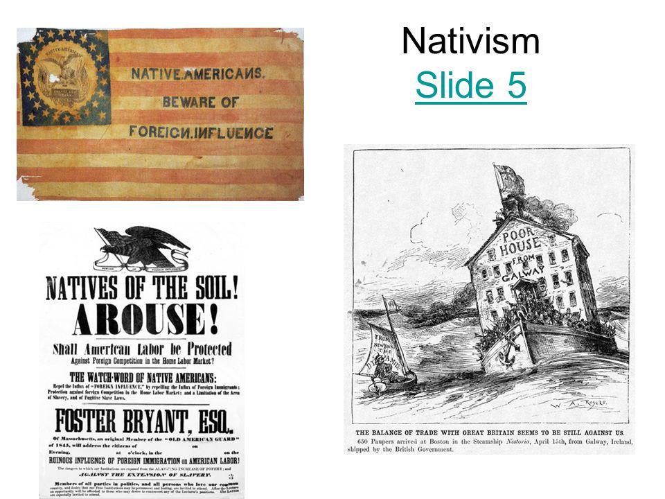 Nativism Slide 5