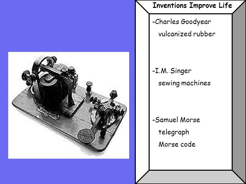 Inventions Improve Life
