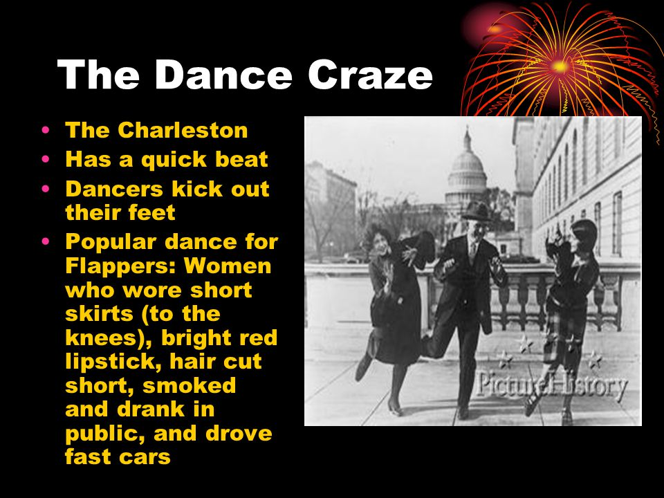 The Dance Craze The Charleston Has a quick beat