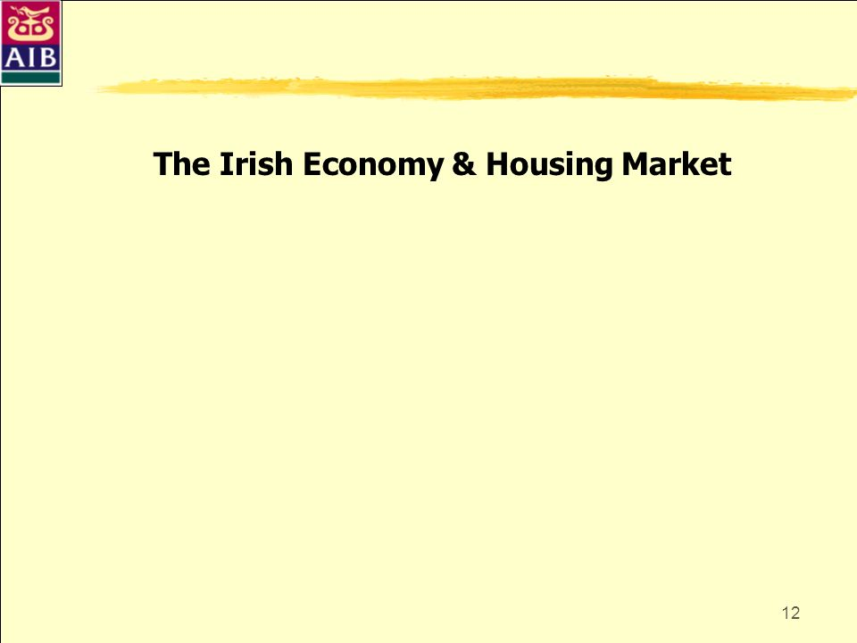 The Irish Economy & Housing Market